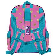 Школьный каркасный рюкзак для девочки с единорогом YES S-37 Unicorn 38х29х14см Розовый (558163)+Подарок 3 месяца пользования приложением Родительский, фото 2