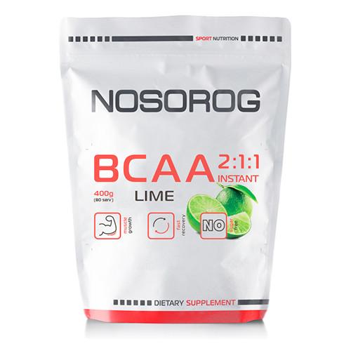 Nosorog BCAA 2:1:1 лайм, 400 гр
