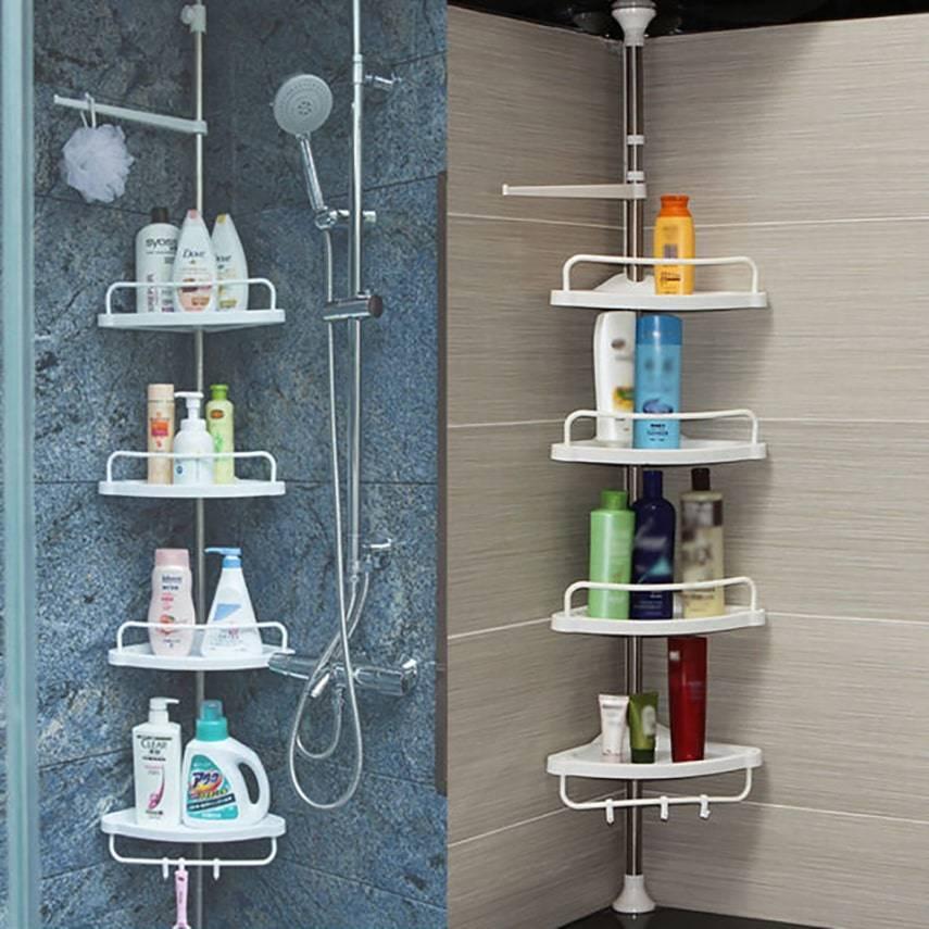 Угловая многоуровневая полка для ванной Multi Corner Shelf