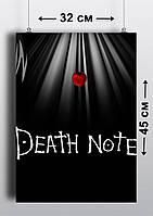 Плакат А3, Тетрадь Смерти 1