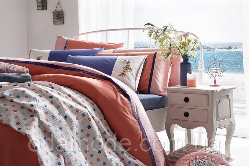 Пододеяльник English Home розовый/оранжевый