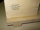 Верстат для зшивання документів ЦОД НТІ 400 х 230 х 120 мм світло-коричневий МС-2015, фото 4