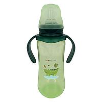 Бутылочка для кормления BabyLove (260 мл.) (зелёная), фото 1