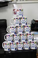 Чашки для выпускников, логотип на чашках, именные чашки, кружки с принтом с фото