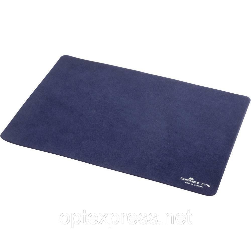 Тонкий коврик для мышки EXTRAFLACH DURABLE темно синий