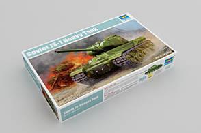ИС-1. Сборная модель советского тяжелого танка в масштабе 1/35. TRUMPETER 05587