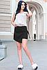 """Обалденная стильная женская юбка-шорты из софта больших размеров """"Мюриэл"""", фото 2"""