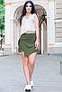 """Обалденная стильная женская юбка-шорты из софта больших размеров """"Мюриэл"""", фото 3"""