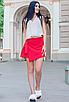 """Обалденная стильная женская юбка-шорты из софта больших размеров """"Мюриэл"""", фото 4"""