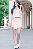 """Обалденная стильная женская юбка-шорты из софта больших размеров """"Мюриэл"""", фото 6"""