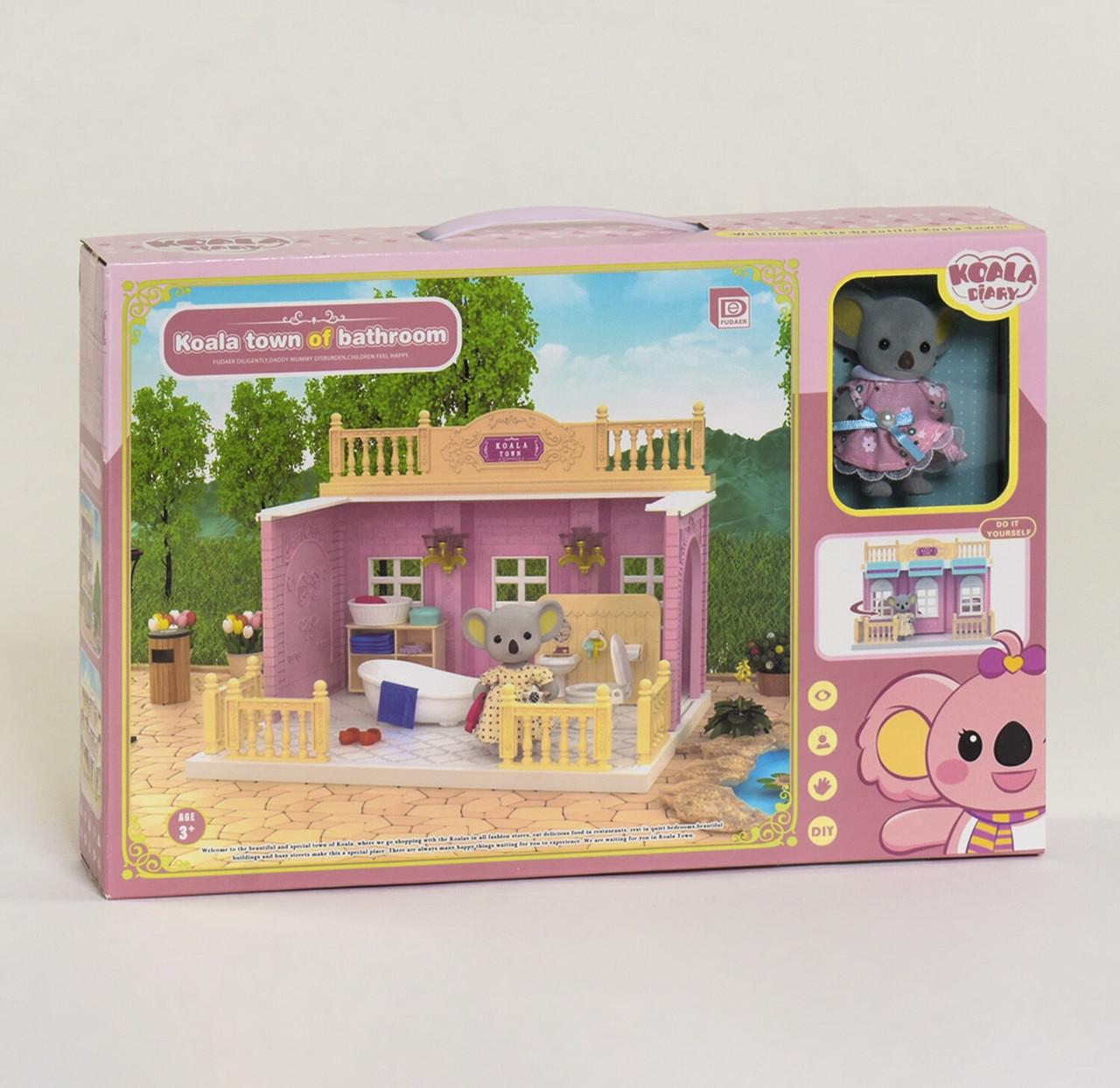 """Игрушечный домик """"Спальня"""" Коалы FDE 8657 с мебелью"""
