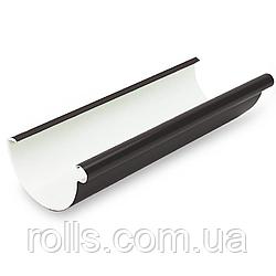Жолоб водостічний 4м Galeco PVC 110/80 ринва водостічна ПВХ RE110-_-RY400-G