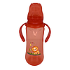 Бутылочка для кормления BabyLove (260 мл.) (красный)