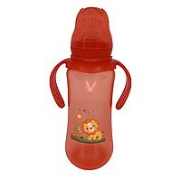 Бутылочка для кормления BabyLove (260 мл.) (красный), фото 1