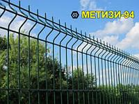 3Д забор ТМ Казачка 1.5х2.5м*4мм оцинкованный с полимерным покрытием (ПВХ)