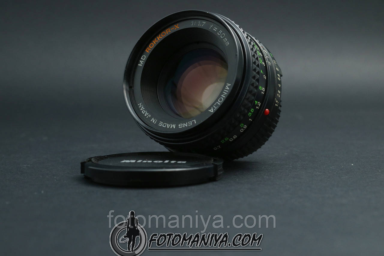 Minolta MD Rokkor-X 50mm f1.7