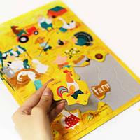 Настольная игра English Student Пазл для детей Ферма English Student, 30 эл. (41315803)