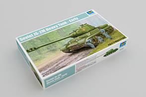 ИС-2М (ранний). Сборная модель советского тяжелого танка в масштабе 1/35. TRUMPETER 05589