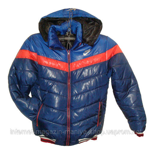 Мужская куртка зима ЮНИОР