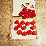 Защитные силиконовые колпачки на колесные гайки 17 мм красные, фото 8