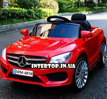 Детский электромобиль на пульте Mercedes на амортизаторах, M 2772EBLR-3 красный