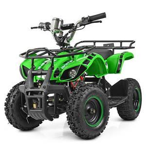 Подростковый электроквадроцикл Profi HB-EATV800N-5S V3 зеленый