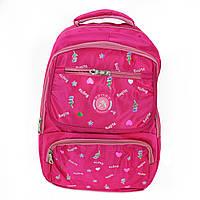 Рюкзак для девочек Bogite, текстиль, розовый