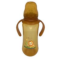 Бутылочка для кормления BabyLove (260 мл.) (оранжевый)
