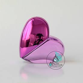 Флакон для парфумів 30 мл у формі серця рожевий
