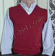 Обманка FIGO для мальчика 134-164 см (бордо)(розница) (пр. Турция)