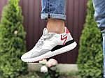 Чоловічі кросівки Adidas Nite Jogger Boost 3M (білі) 9437, фото 4