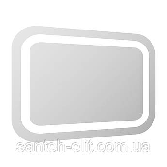 Зеркало прямоугольное 60*80см со светодиодной подсветкой