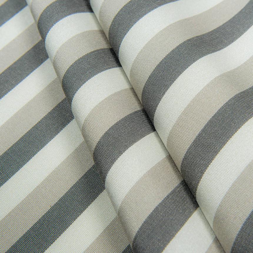 Водоотталкивающая ткань для садовых подушек Дралон Tricolor Серый