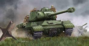 ИС-2М (поздний). Сборная модель тяжелого танка в масштабе 1/35. TRUMPETER 05590