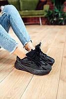 Кроссовки женские весенние осенние качественные модные Adidas Yeezy Boost 700 V2 Black, фото 1