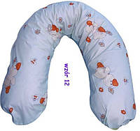 Подушка для кормления, для берменных хлопок (наполнитель холофайбер)