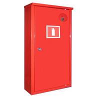 Пожарный шкаф Goobkas ШПО-106 угловой, закрытый для 1-го огнетушителя 6-12 кг