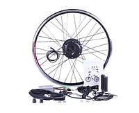 Мотор-колесо Электронабор 36V 350W для велосипеда (колесо заднее 27,5 с дисплеем) Электровелонабор
