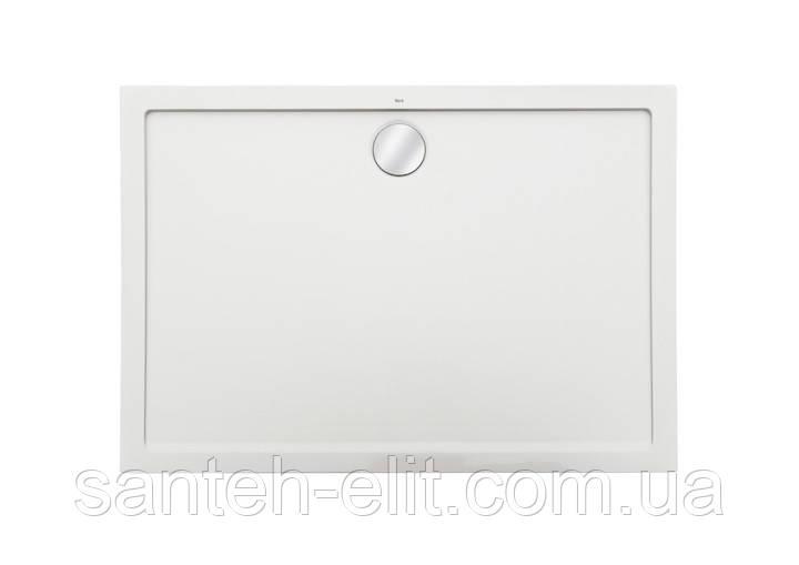 Roca AERON поддон 1200*900*35мм, из камня  с трапом, сифоном в комплекте, цвет белый (A276295100)