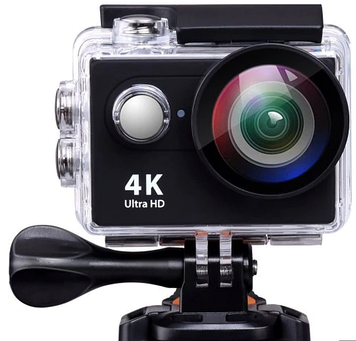 Экшн-камера EKEN H9S WiFi 4K Ultra HD + аквабокс Black