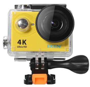 Экшн-камера EKEN H9S WiFi 4K Ultra HD + аквабокс Yellow