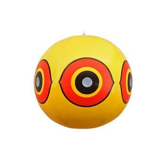 Куля вініловій ЕкоБерд очей Хижак жовтий