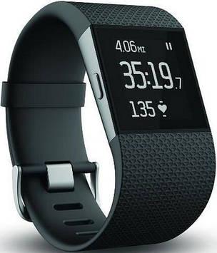 Смарт-часы Fitbit Surge Fitness Super Watch (FB501BKS) Black S (US)