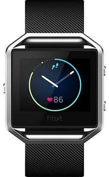 Смарт-часы Fitbit Blaze Smart Fitness Watch, Black, Silver, Large (US)