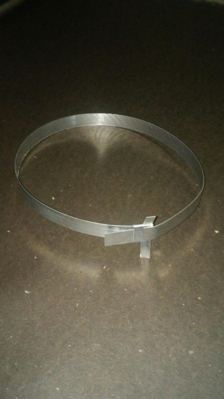 Хомут для крепления теплоизоляционной скорлупы ППУ (76 диаметр)