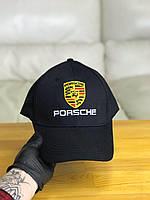 Кепка бейсболка мужская Porsche Порше (черный цвет)