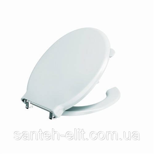 NOVA PRO сиденье с крышкой для людей с ограниченными физическими возможностями, Duroplast, с металл. креплениями, для комплектации с M33400000