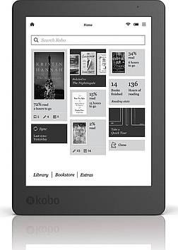 Электронная книга Kobo Aura 2 (N236-KU-BK) Black Grade B
