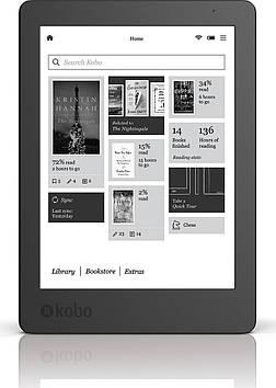 Электронная книга Kobo Aura 2 (N236-KU-BK) Black