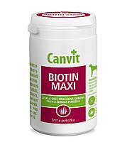 Canvit Biotin maxi (Канвит Биотин макси) витаминная кормовая добавка для идеальной шерсти собак от 25 кг.